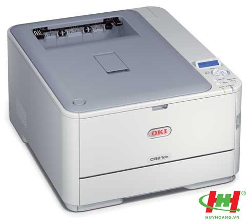 Máy in laser màu OKI C321DN (in 2 mặt,  in qua mạng,  in giấy dày) - Thay C332DN